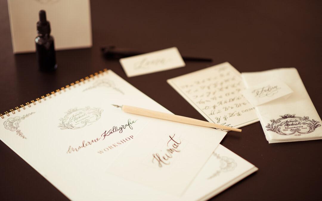 Moderne Kalligrafie